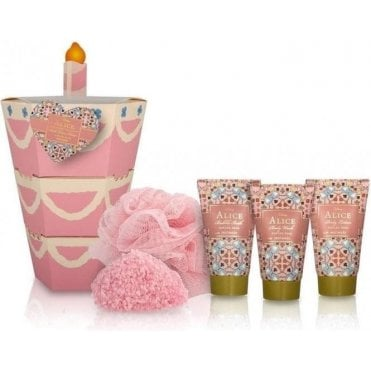 Alice  Unbirthday, Upside Down Cake Gift Set