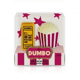 DUMBO TICKET & POPCORN LIP BALM DUO - 12pc