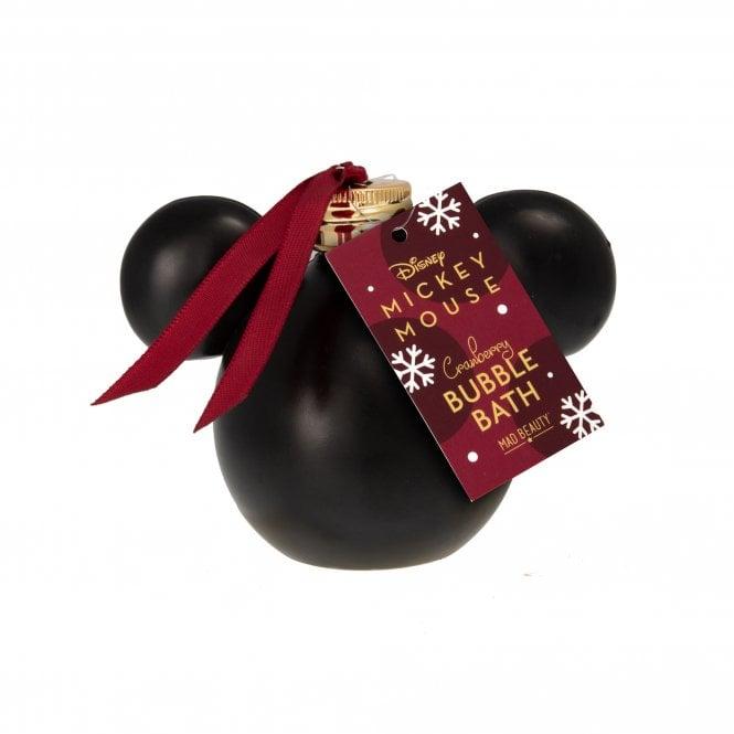 Disney Mickey Burgundy Bauble Bubble Bath
