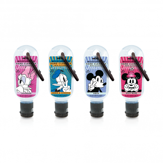 Disney Mickey & Friends Clip and Clean Hands Cleansing Gel