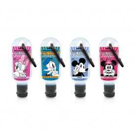 Mickey & Friends Clip and Clean Hands Cleansing Gel