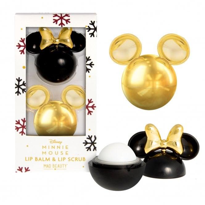 Disney Minnie Burgundy Mickey Lip Duo
