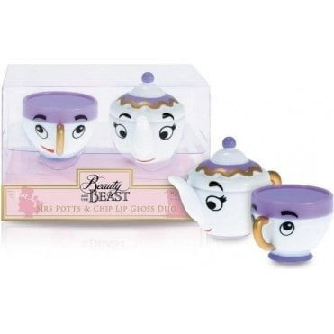 Mrs Potts & Chip Lip Gloss Duo -1pc