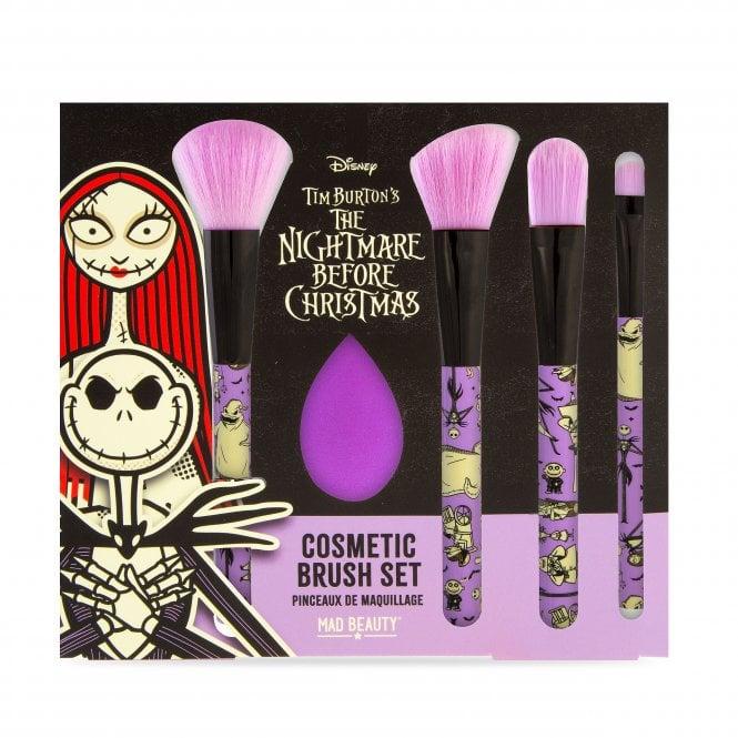 Disney Nightmare Before Christmas Cosmetic Brush Set