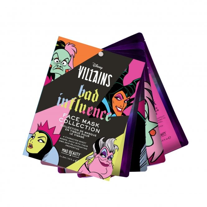 Disney Pop Villains Face Mask Collection