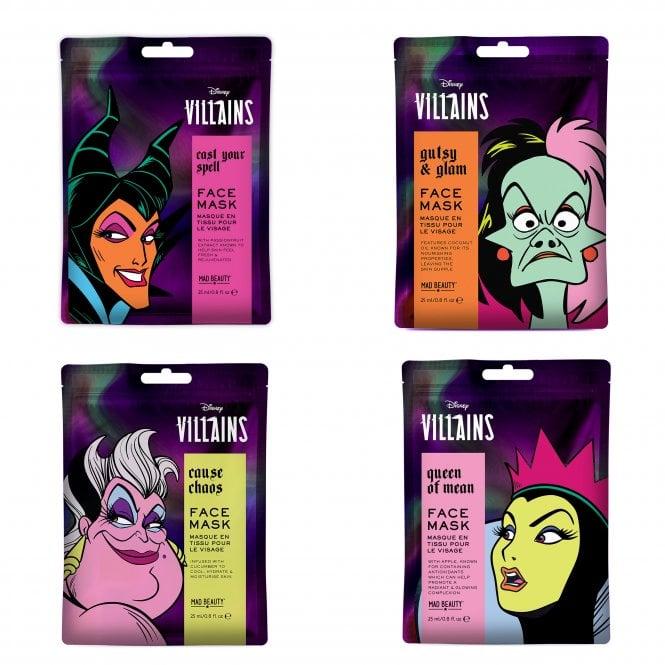 Disney Pop Villains Face Masks