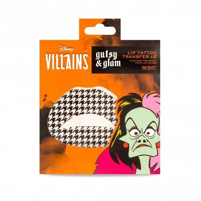 Disney Pop Villains Lip Tattoo Transfer