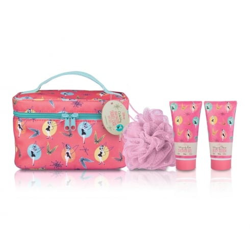 Disney Tinks Travel Case & Body Dazzle Gift Set