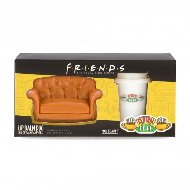 Friends Sofa and cup lip balm duo