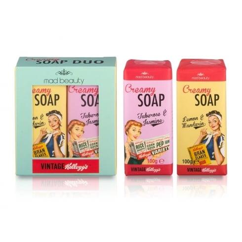 Kellogg's Vintage 50's  Soap Set 1pc