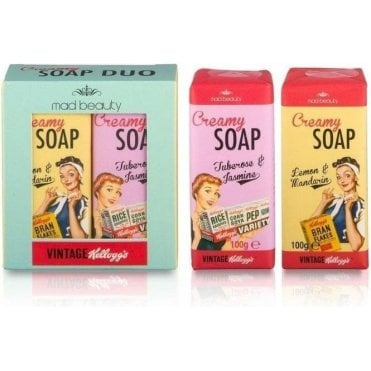 Kellogg's Vintage 50's Soap Set 1pc