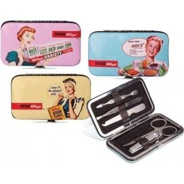 Kellogg's 1950's Vintage Manicure Set