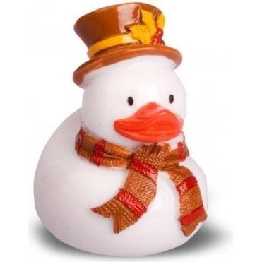 Festive Pucker Ducks - Snowman