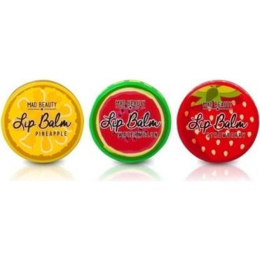 MAD Fruit Lip Balms