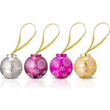 Snowflake Bauble Lip Gloss - 1pc