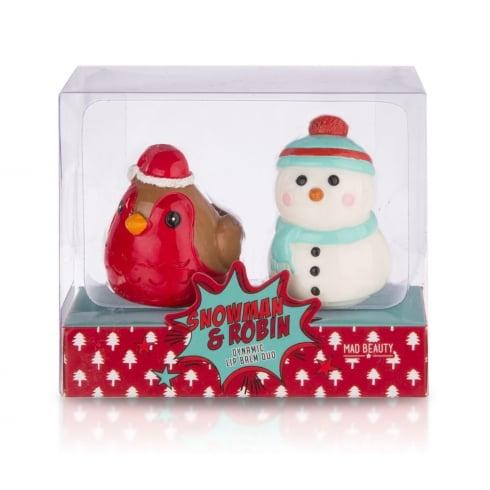 Lip Gloss Company Snowman & Robin Duo -