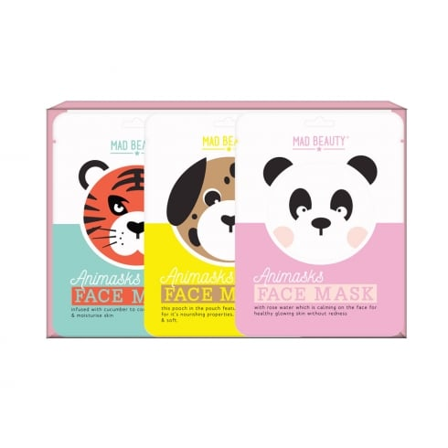 MAD Beauty Animask Face Mask - Pk of 3 -1pc