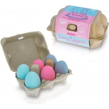 Bake Egg Bath Bombs