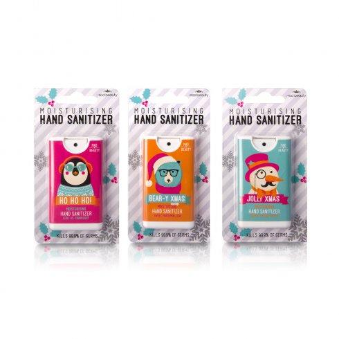 MAD Beauty Christmas Animals Moisturising Hand Sanitizer Range