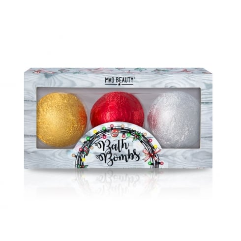 MAD Beauty Christmas Lights Bath Bombs -1pc