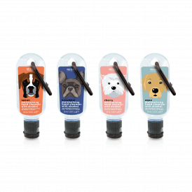 Dogs Clip Hand Cleansing Gel
