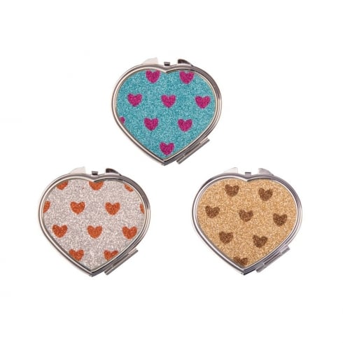 MAD Beauty Glitter Heart Mirrors