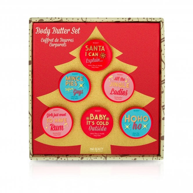 MAD Beauty Jingle Ladies Body Butter Tree