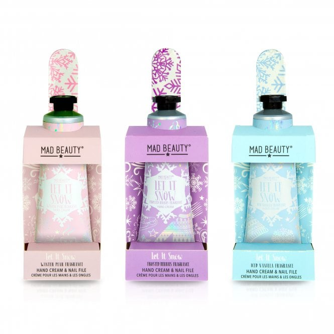 MAD Beauty Let it Snow Hand Cream Set