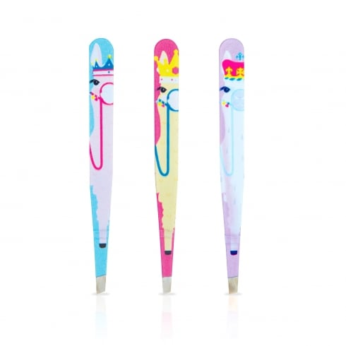 MAD Beauty Llama Queen Tweezers 1pc