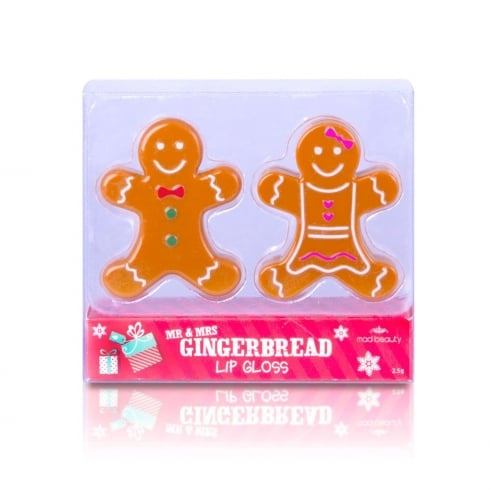 MAD Beauty MAD Mr & Mrs Gingerbread Lip Balms Duo Pack -1 pc