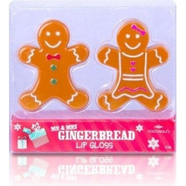MAD Mr & Mrs Gingerbread Lip Balms Duo Pack -1 pc