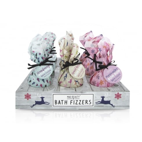 MAD Beauty Modern Christmas Bath Fizzers -1pc