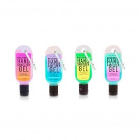 Neon Moisturising Hand Sanitizer Clip & Clean -1pc
