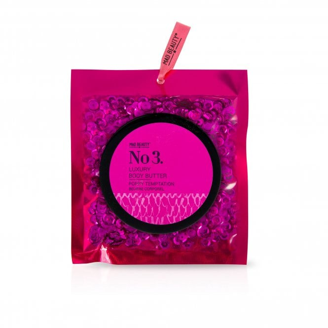 MAD Beauty Pink Sequin Body Butter - 1pc