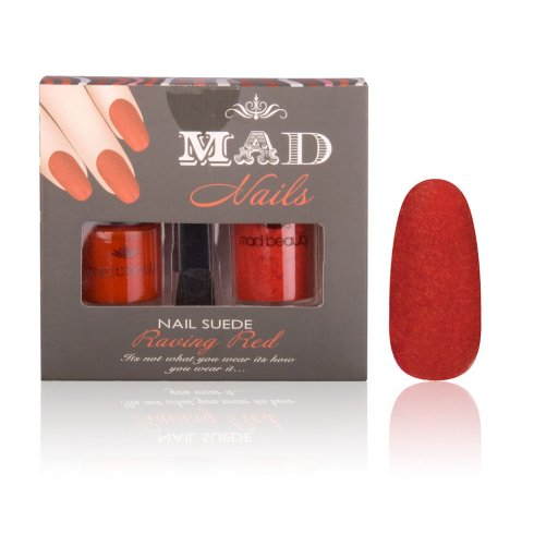MAD Beauty Raving Red Suede