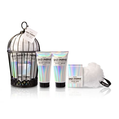 MAD Beauty Salt & Pepper Body Gift Set
