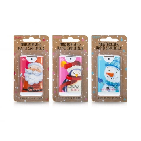 MAD Beauty Santa & Friends Hand Sanitizers 1pc