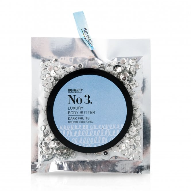 MAD Beauty Silver Sequin Body Butter - 1pc