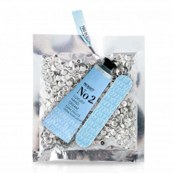 MAD Beauty Silver Sequin Hand Care Set - 1pc