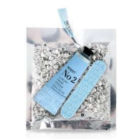 Silver Sequin Hand Care Set - 1pc