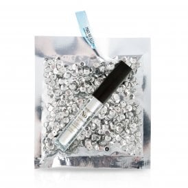 Silver Sequin Lip Gloss - 1pc