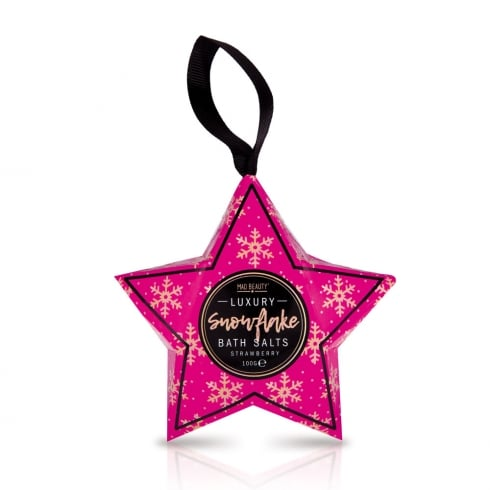 MAD Beauty Snowflake Star Bath Salts -1pc