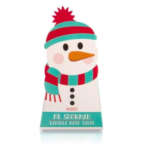 MAD Beauty Snowman Bath Salts  (Vanilla)