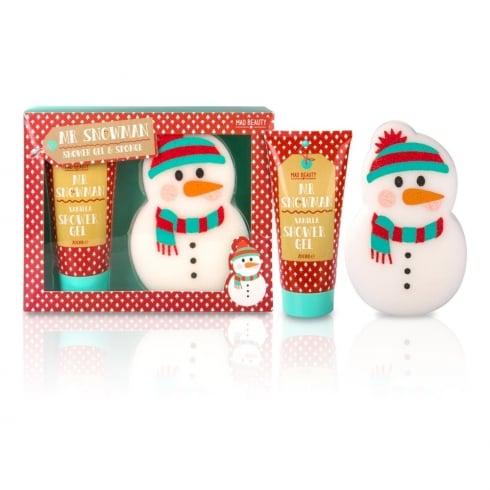 MAD Beauty Snowman Sponge Gift Set