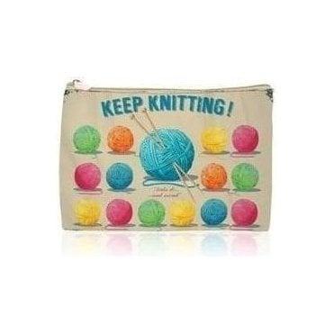 Wool Ball Cosmetic Bag