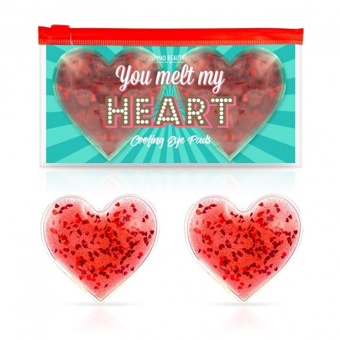 MAD Beauty You Melt My Heart Cooling Eye Pads - 1pc