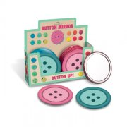 MAD Button Vanity Mirror