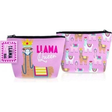 Llama Queen Cosmetic Bag 1pc