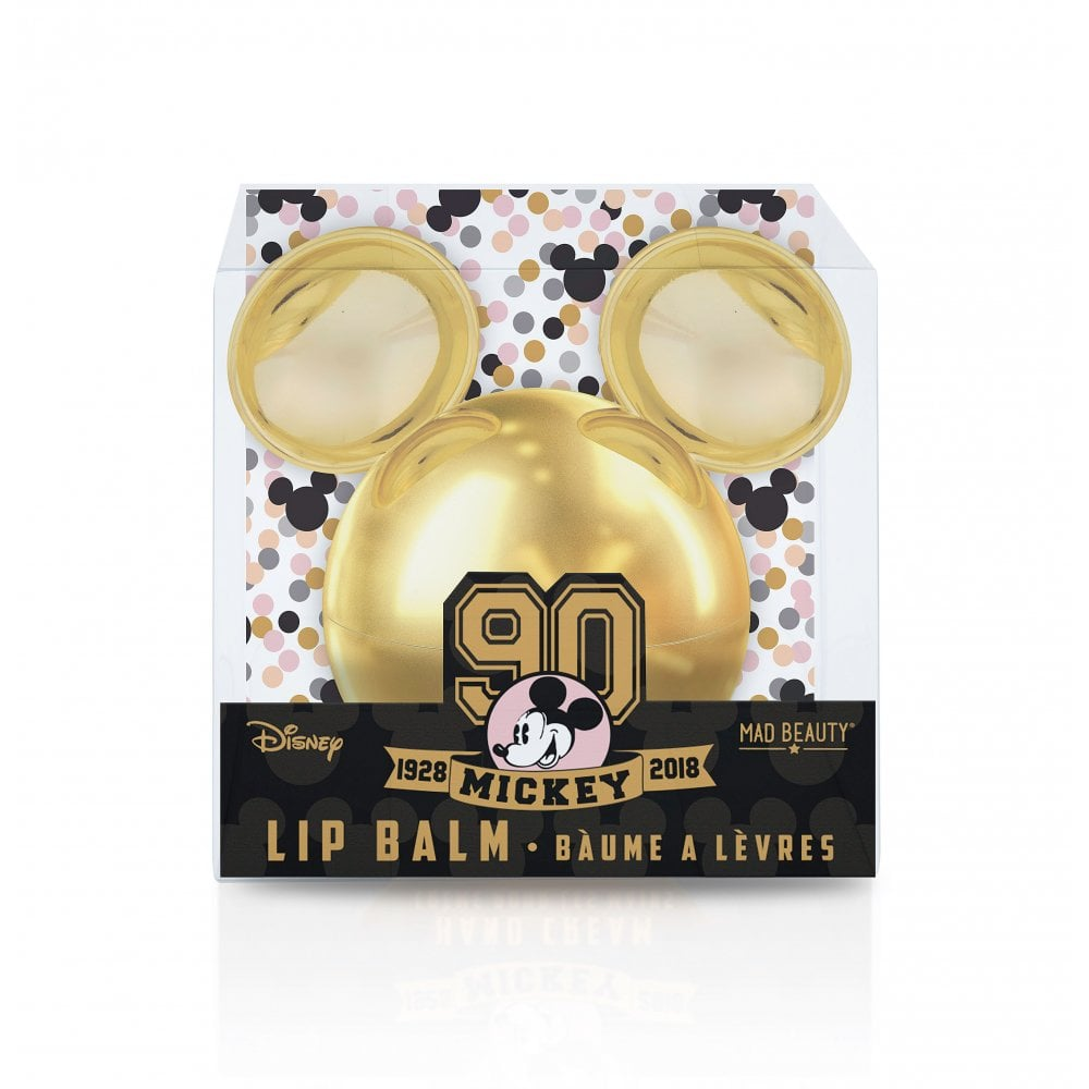 8b29c44122 Mickey s 90th Lip Balm Gold -1pc - Gifts from Mad Beauty Ltd UK