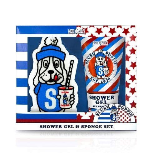 Slush Puppie Shower Gel & Sponge Set -1pc